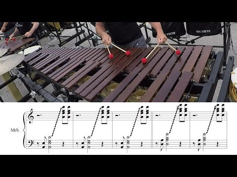 2018 Boston Crusaders Marimba - LEARN THE MUSIC to