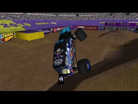 32 Truck World Finals 16 Freestyle - Monster Jam Rigs of Rods