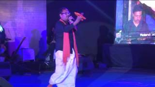 Memories of sur sangam musical night on 12-01-14 priye praneshwari by rajeev awadhiya