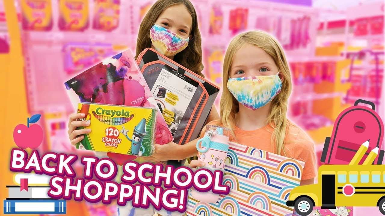 Back to (Home) School Shopping !!!