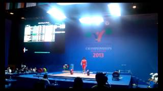 Тяжелая атлетика: Тимур Бекнур уулу (KGZ)