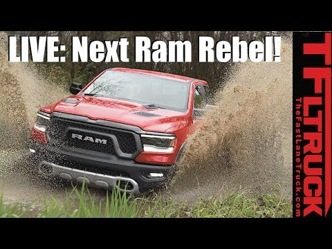 LIVE Debut of the 2019 Ram 1500 from Detroit