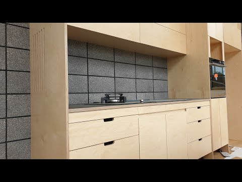 Plywood Kitchen Build