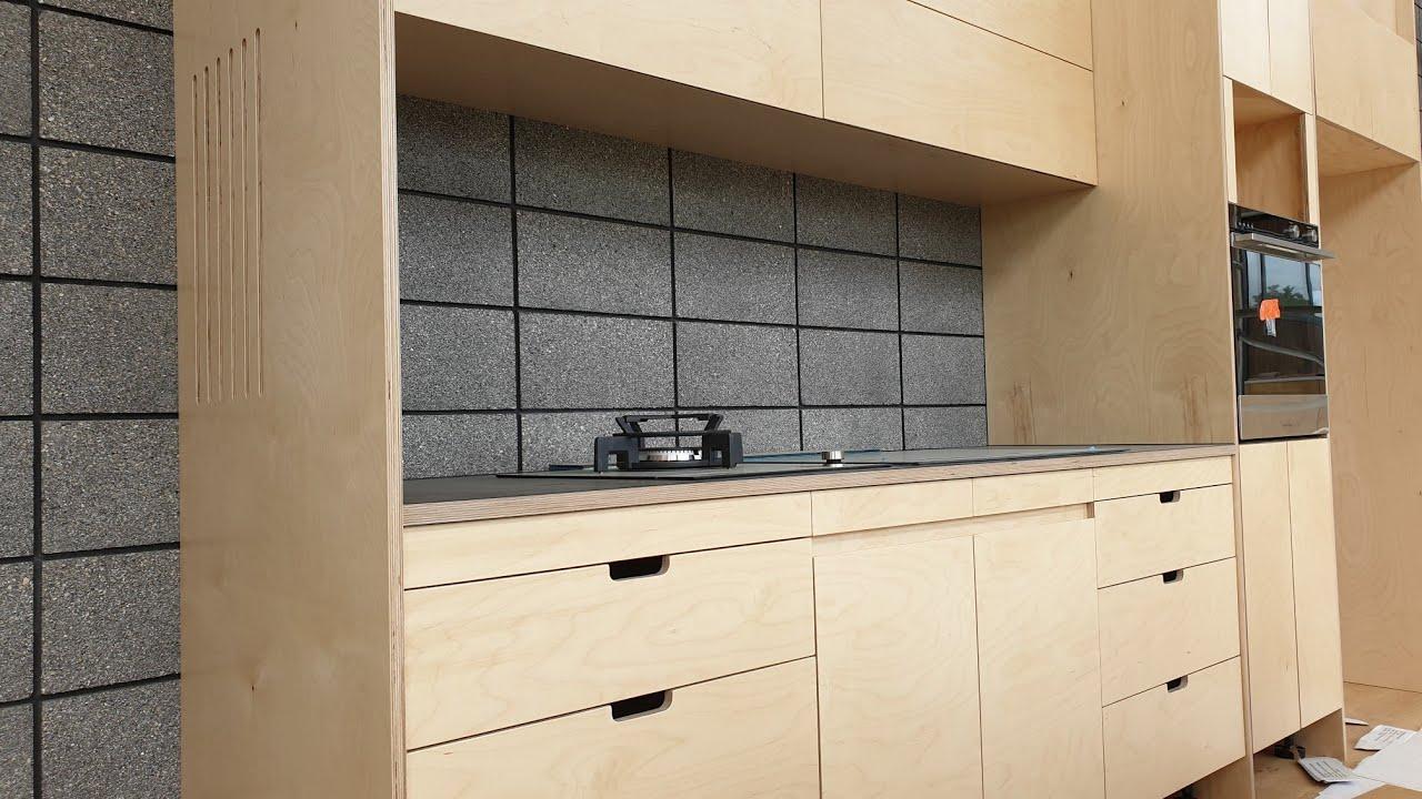 Plywood Kitchen Build Youtube
