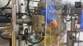Food & Beverage Industry | Linx 5900 date coder installed rotary packing machine Thumbnail