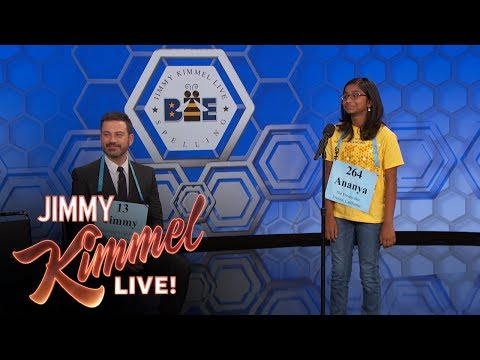 Jimmy Kimmel vs. 12-Year-Old Spelling Bee Winner