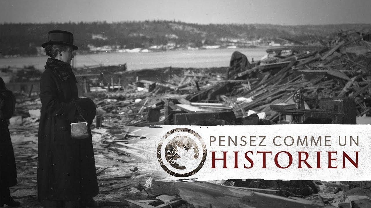 Pensez comme un historien : l'explosion d'Halifax au travers de lettres