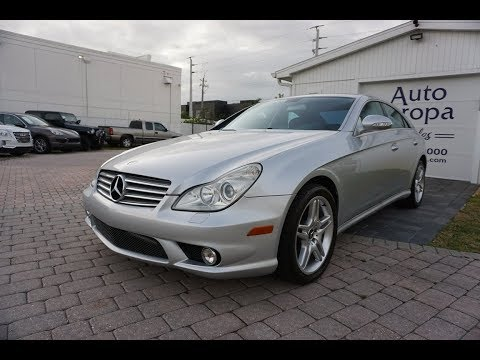 2006 Mercedes-Benz CLS 500 Coupe Review And Test Drive By Bill Auto Europa Naples