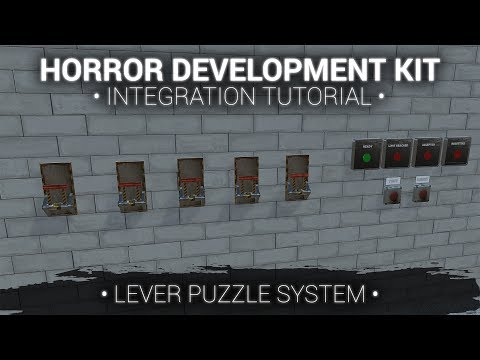 Integrate 'Horror Development Kit' with 'Lever Puzzle System