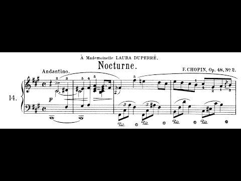 Chopin: Nocturne Op.48 No.2 in F# Minor (Moravec)