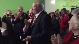 CSC ARBRISSEAU ► REMISE DE LA MEDAILLE DE LA VILLE DE LILLE A BERTRAND DUBAR