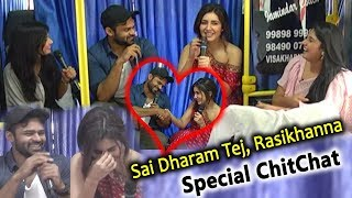 Sai Dharam Tej, Rasikhanna Special ChitChat Full Video I Silver Screen
