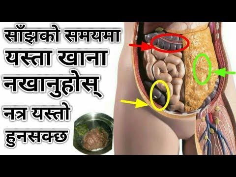 Nepali Health Tips Food Info साँझको समयमा यस्ता खानेकुरा नखानुहोस् नत्र यस्तो हुनसक्छ!!
