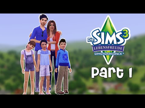 Lets Play Sims 3 Generations Part 1 - Willkommen in Sunset Valley!