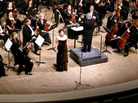 Lyubasha's song from The Tsar's Bride by N.Rimsky-Korsakov - Ekaterina Gubanova.AVI