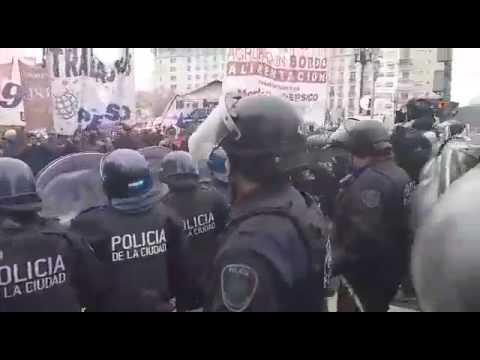 Represión a trabajadores de PepsiCo II