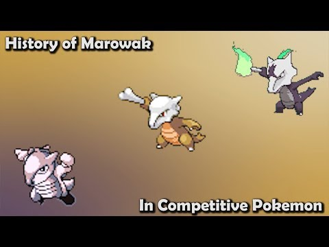 How GOOD was Marowak ACTUALLY? - History of Marowak in Competitive Pokemon (Gens 1-7)