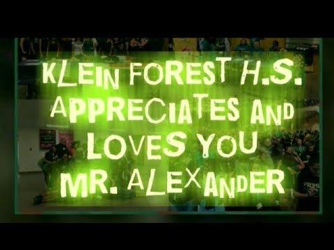 Klein Forest High School Thanks Mr Alexander thankaprincipal principalsmonth