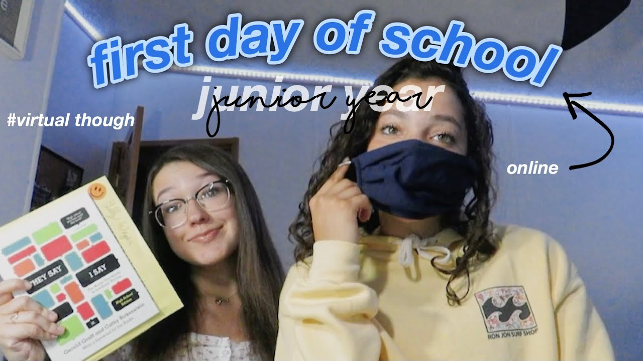 FIRST DAY OF SCHOOL GRWM 2020 (junior year) *virtual*