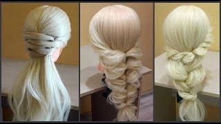 Красивые прически на 1 сентября,Легкие необычные косы в школу.Back To School Hairstyles