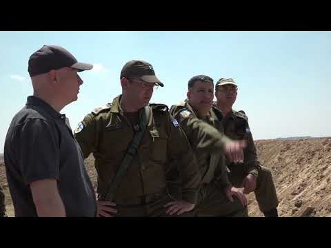 Jason Greenblatt spent a day touring the Gaza border