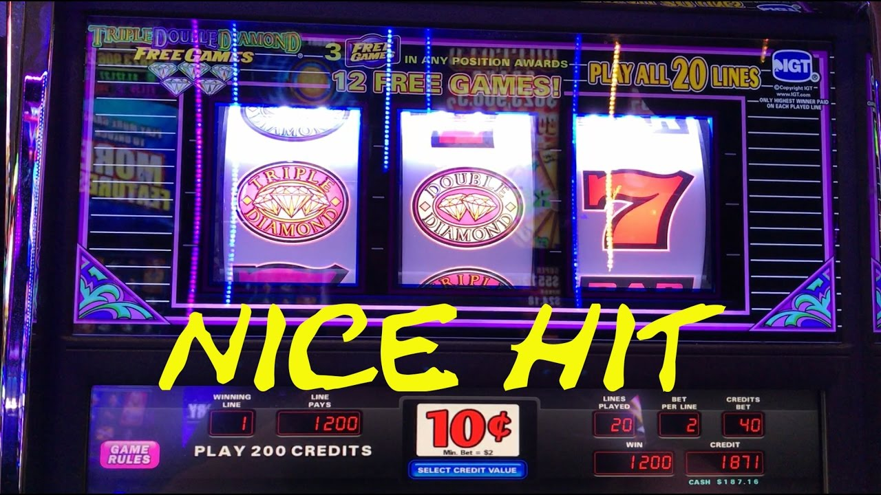 Triple Double Diamond Slot Machine Free Games