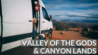 DAY in the LIFE: VALLEY of the GODS | VAN LIFE VLOG 10