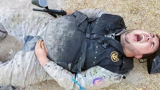 CRAZY ROOMMATE: PaintBall FREAKOUT!!