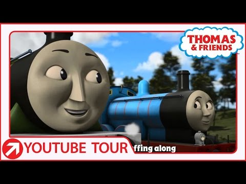 It's Great To Be An Engine | YouTube World Tour | Thomas & Friends