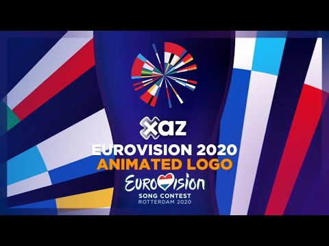 Eurovision 2020: Animated Logo #OpenUp
