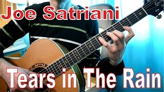 Joe Satriani - Tears In The Rain | Как играть на гитаре | How to play | Сапрыкин