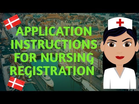 How To Apply For Danish Nursing Registration And Autorisation Visa||Instructional Video