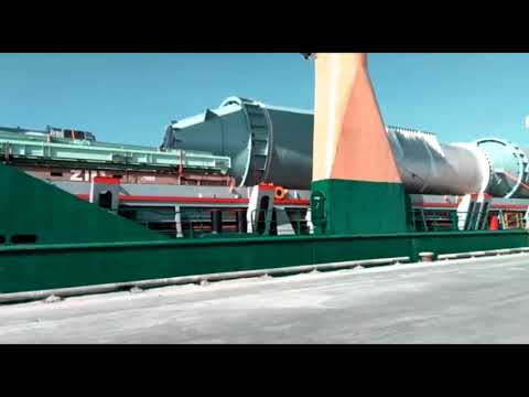 Loading Project Cargoes at Private Jetty of Semen Indonesia