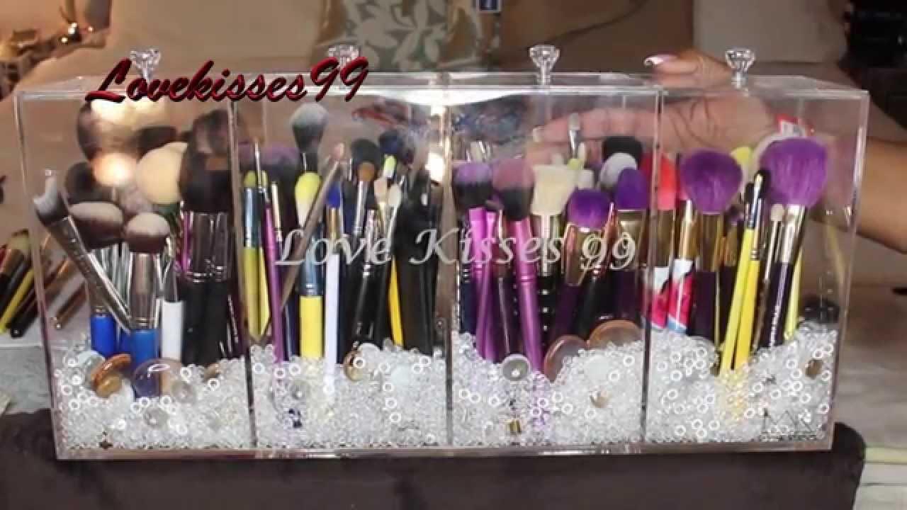 Makeup Brush Conner With Lid - Mugeek Vidalondon