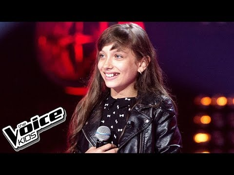 Wiktoria Gabor - 'Roar' - Przesłuchania w ciemno - The Voice Kids Poland 2