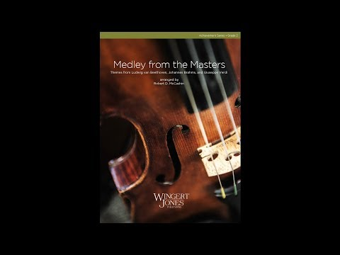 Medley from the Masters - arr. Robert McCashin - 3035141