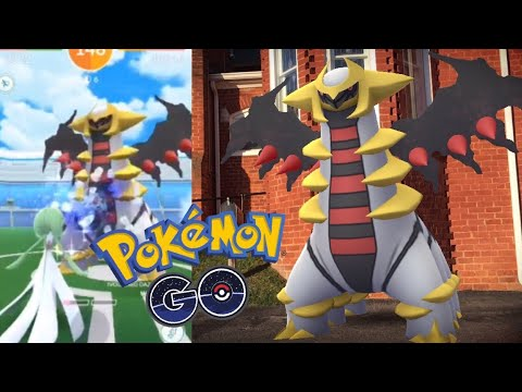 WORLD'S FIRST GIRATINA RAID IN POKÉMON GO! + Gen 4 Ghosts and Spiritomb Research! (Live Stream)
