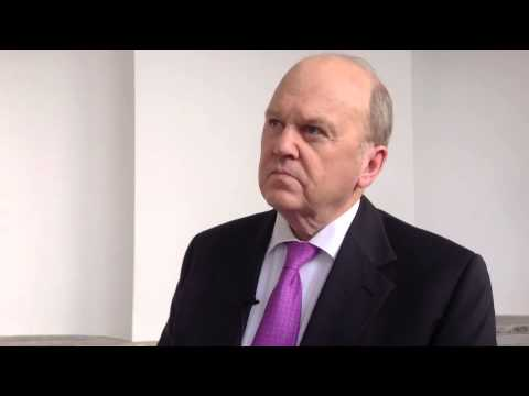 Minister Michael Noonan on his Budget coughing fit