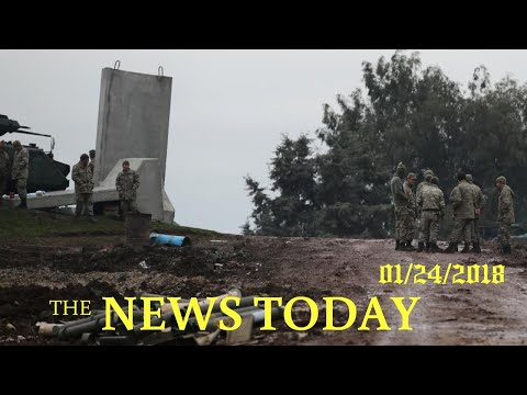 News Today 01/24/2018 | Donald Trump | U.S.-backed Syria Force Denies Islamic State In Area Tar...