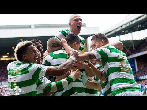 Celtic FC - Glasgow Derby goals from the perfect angle