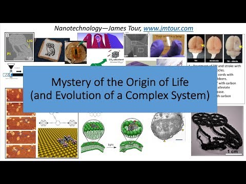 The Mystery Of The Origin Of Life - Dr. James Tour