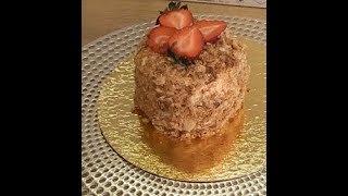 Торт НАПОЛЕОН. Рецепт. Самый вкусный и простой. Наполеон с заварным кремом из кокосового молока.