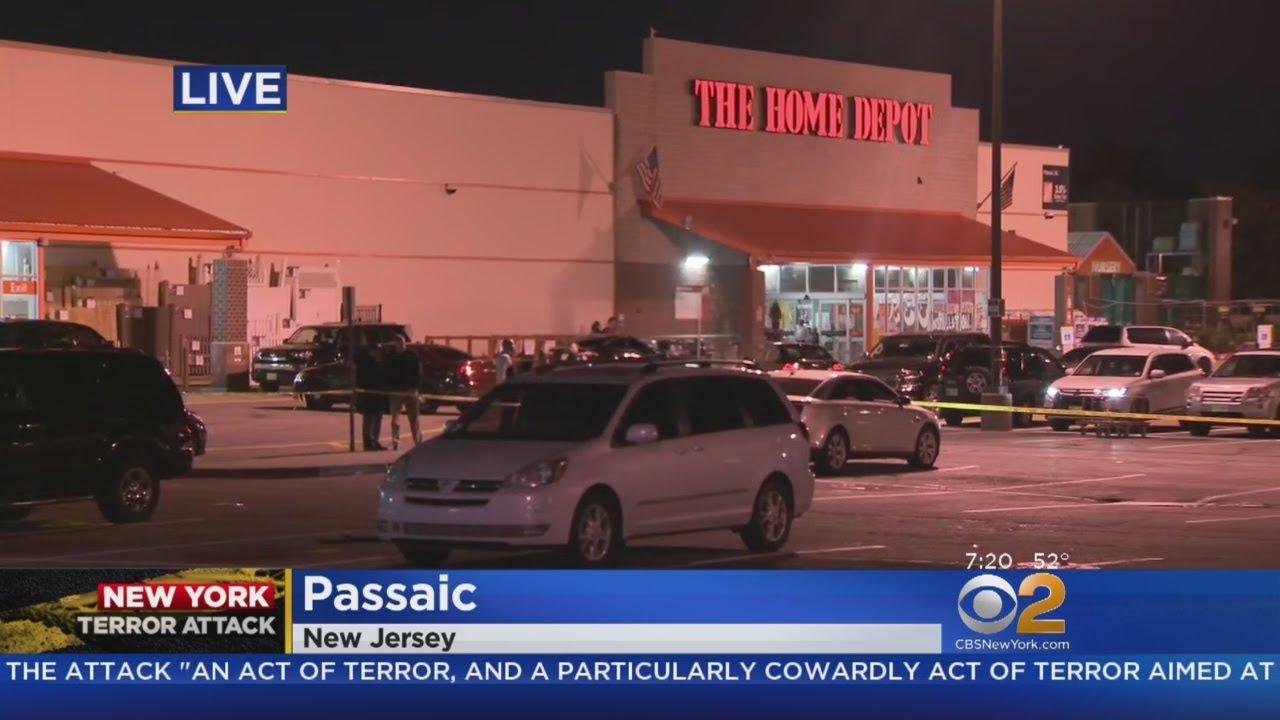 Suspect In Lower Manhattan Terror Attack Rented Truck From Passaic Home Depot Youtube