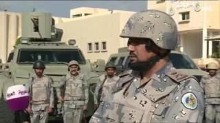 قائد حرس الحدود في منطقة عسير يشرح الأوضاع على الحدود