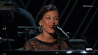 The Weeknd - The Hills & Earned It live 2015 Bet Awards Ft. Alicia Keys mp3