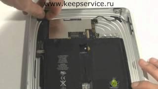 видео Замена аккумулятора iPad