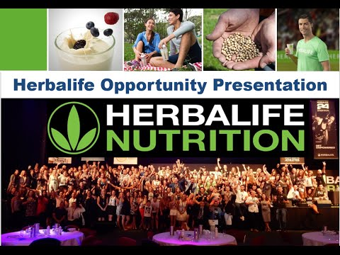 Herbalife Opportunity Presentation