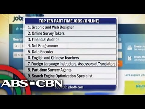 Bandila: What are the top 10 part-time jobs?