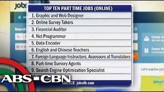 What are the top 10 part-time jobs?