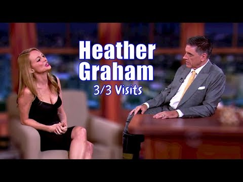 Heather Graham - Wants To Visit The Obamas - 3/3 Appearances In Chron. Order [HD]